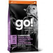 GO! Solutions Carnivore Grain Free Chicken, Turkey + Duck Senior Recipe 1.6kg
