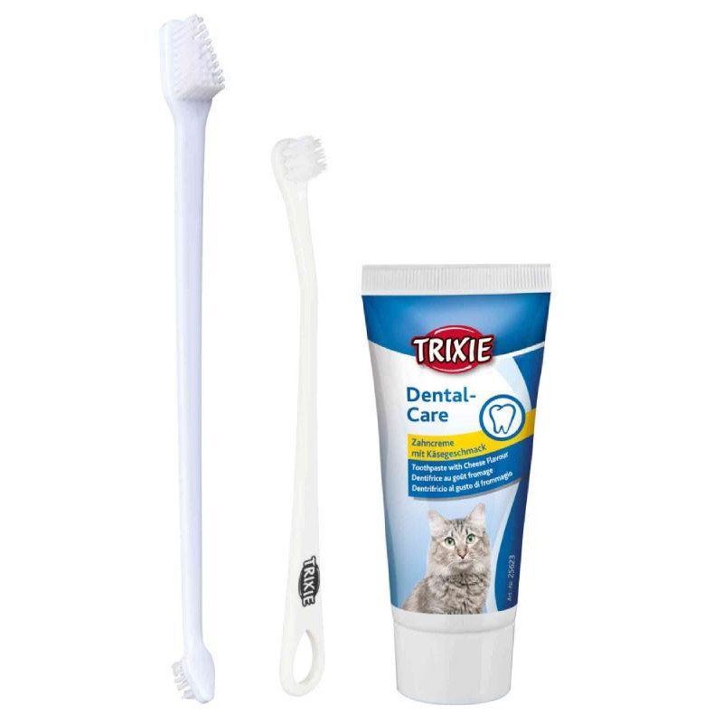 Trixie Dental Hygiene Set/Σετ περιποίησης δοντιών γάτας